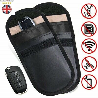 1 X Car Key Signal Blocker Case Keyless Entry Fob Guard Pouch Bag RFID Blocker