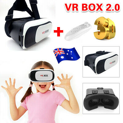 2018 VR Headset VR BOX Virtual Reality Glasses 3D for Samsung Iphone X 8 7 Plus