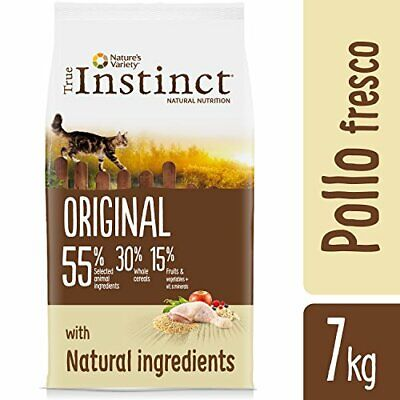 True Instinct Original Pienso para Gato Adulto con Pollo (7 kg)