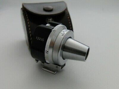 Leica Leitz Universal Viewfinder Viooh With Case