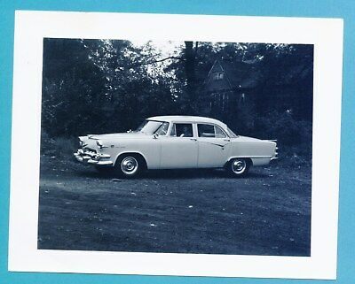 1955 Dodge Custom Royal Lancer Four Door - Dealership Photo And Index Card