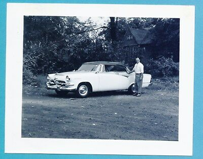1955 Dodge Coronet Lancer Hardtop - Dealership Photo And Index Card