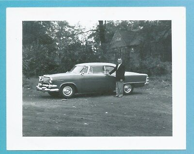 1955 Dodge Royal Lancer Hardtop - Dealership Photo And Index Card