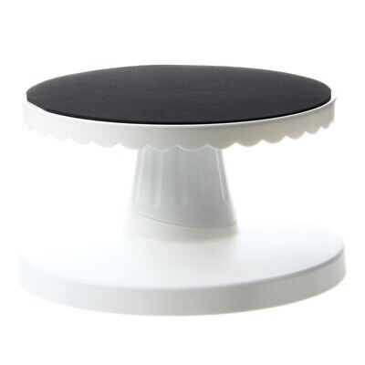 Rotating Icing Revolving Cake Tilting Turntable Decorating Stand Platform W5