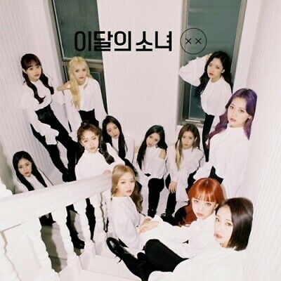 Monthly Girl-[XX]Mini Repackage Normal B CD+Poster+Booklet+PhotoCard K-POP Loona