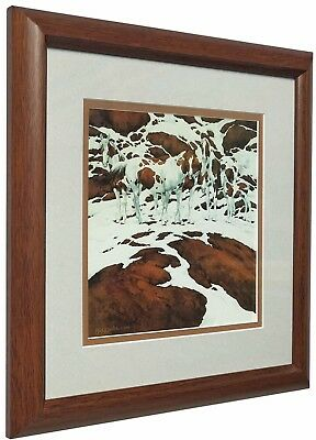 Pintos by Bev Doolittle Matted and Framed Art Print