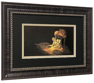 Unknown Presence Art Print by Bev Doolittle Matted and Framed