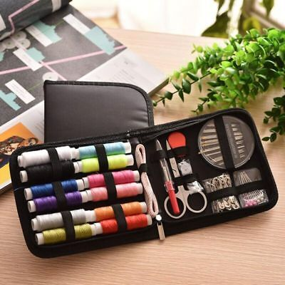 72pcs/Set Sewing Kit Scissors Needle Thread for Home Stitching Hand Sewing Tool