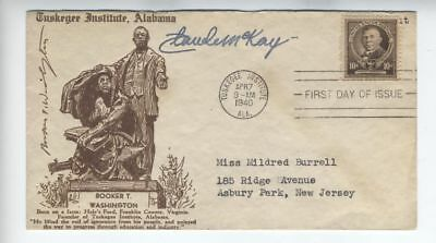CLAUDE MCKAY Harlem Renaissance Rare Signed Autograph FDC AFRICAN AMERICAN