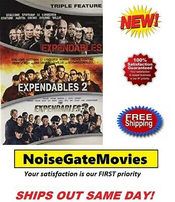 Brand New - The Expendables: 1 2 3-Film Collection (DVD)  Sylvester Stallone