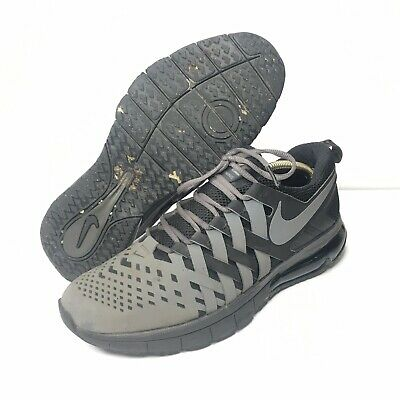 c41d13eed1 Nike Fingertrap Max Training Shoes Gray & Black Mens Size 11.5 US 644673-001