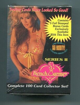 1994 Benchwarmer Series II sealed box 100 card set + 5 foil stamped bonus cards