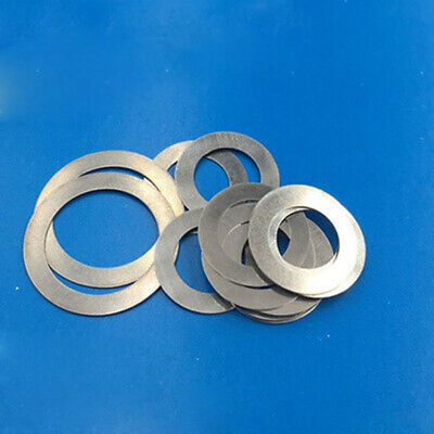 M6 Ultra-thin Flat Washers Small Outer Diameter Flat Gasket 0.1-1.5mm Thick