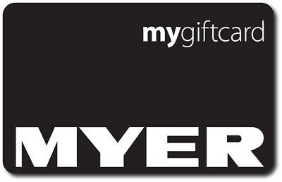 Myer Gift Card A$100