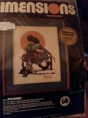 Dimensions~Norman Rockwell~Tom Sawyer~Needlepoint Kit