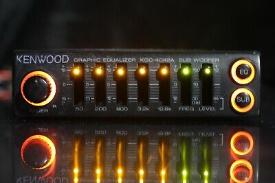 Kenwood Kgc-4042A Oldschool Mini Eq Baby Equalizer