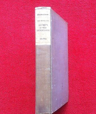 THE WORKS OF ALFRED, LORD TENNYSON VOL V DRAMAS, FIRESIDE EDITION, c. 1910 ?