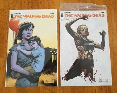 THE WALKING DEAD #132 SEALED 1st Alpha Appearance  LOOT CRATE EXCLUSIVE VARIANT