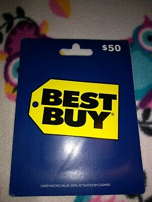 Best Buy $50 Gift Card - Send by Mail Only