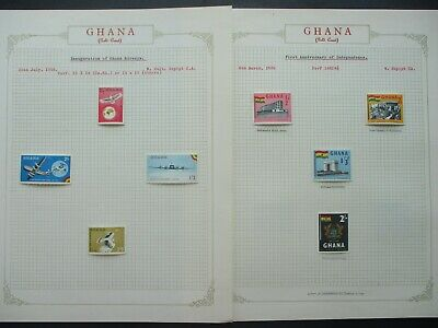 ESTATE: Ghana Collection on Pages - Must Have!! Great Value (P875)