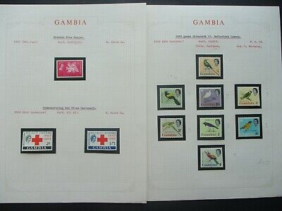 ESTATE: Gambia Collection on Pages - Must Have!! Great Value (P877)