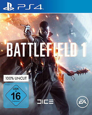 EA BATTLEFIELD 1 PS4  PlayStation 4 SPIEL GAME DEUTSCH uncut