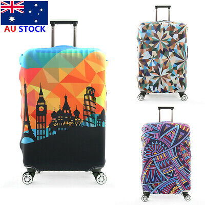 AU 18-32'' Waterproof Travel Luggage Suitcase Protective Cover Dust-proof Case