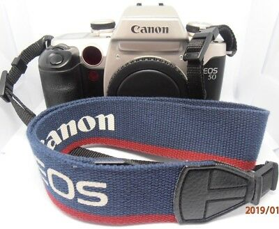 Canon EOS 50 35mm camera