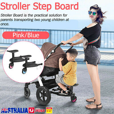 【20%OFF】Board Stroller Step Board Stand Connector Toddler/Kids Up To 25Kg