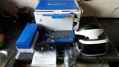 Sony PlayStation VR Bundle, Camera, Move Controllers and Demo Disc, boxed