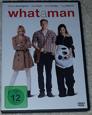 "1 DVD Film ""What a Man"" (2012)"