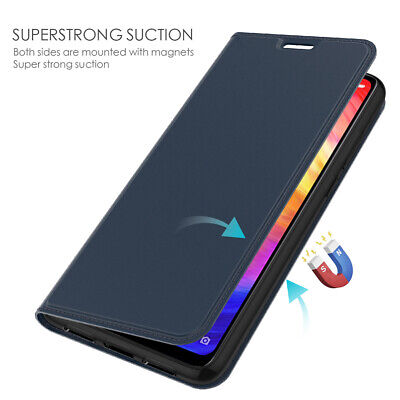 For Xiaomi Redmi Note 7 6 Pro 5A 4X Flip Leather Magnetic Card Wallet Case Cover
