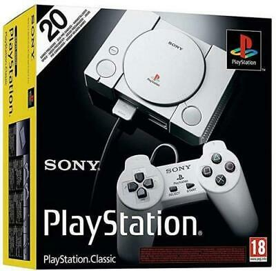 Sony PlayStation Classic Console with 20 Games Preloaded