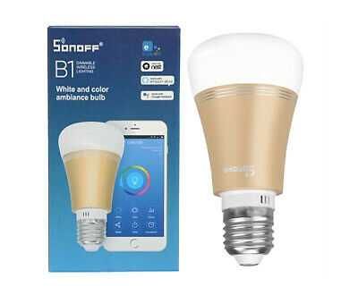 SONOFF B1 E27 LED-LAMPE RGB-FARBEN WIRELESS WiFi HOME AUTOMATION ALEXA GOOGLE MI