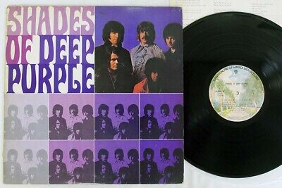 DEEP PURPLE SHADES OF WARNER P-8367W Japan VINYL LP