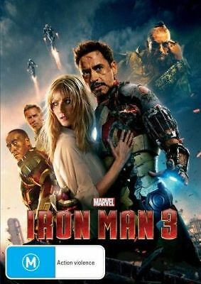 Iron Man 3 (DVD, 2013) NEW R4