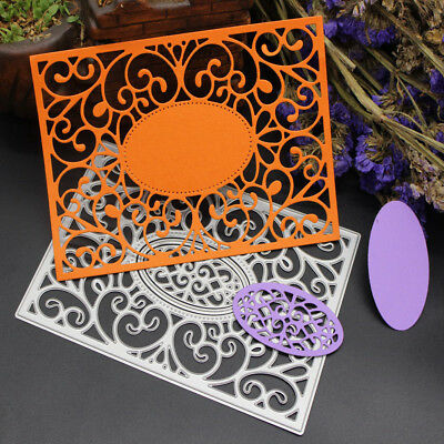 Frame Metal Cutting Dies Stencils for Scrapbooking/photo albums Cards Decor FEH