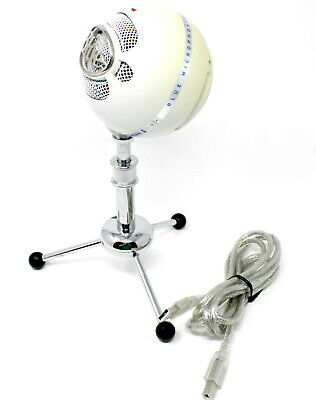 Blue Microphones Snowball iCE Versatile USB Microphone - White (ACCEPTABLE)