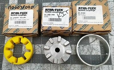 Atra-Flex A1 3 PIECE SET; Hub, Yellow Insert & Ring NEW [D1B4]