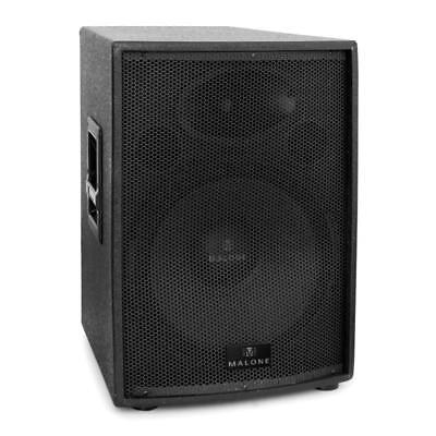 "Aktiv Dj Pa Bass Lautsprecher 15"" (38Cm) Subwoofer Studio Monitor Box 500W Rms"