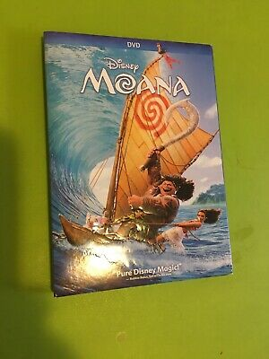 Disney Moana (DVD, 2017) In Like New Condition With Slipcase