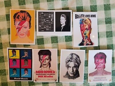 David Bowie Collector Stickers