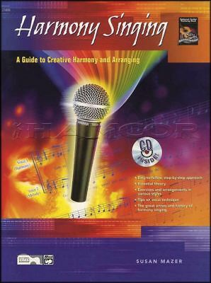 Harmony Singing Vocal Sheet Music Book with CD Learn How To Sing Vocal Method