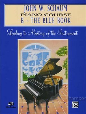 John W Schaum Piano Course B - The Blue Book Learn to Play Beginner Method