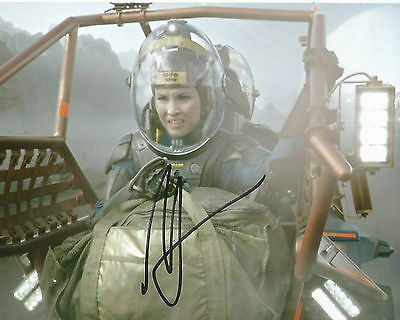 Noomi Rapace Signed PROMETHEUS 10x8 Photo AFTAL OnlineCOA