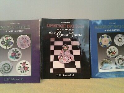 Collectors' Paperweights Price Guide and Catalogues (3) Selman