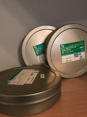 3 Fuji 16mm Metal Film Cannisters