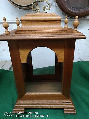 Large Fusee Bracket Clock Case - Empty
