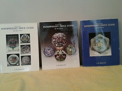 Collectors' Paperweights Price Guide and Catalogues (3)