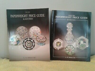 Collectors' Paperweights Price Guide and Catalogues (2)